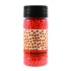 Πέρλες Ζαχαρένιες Πορτοκαλί 100γρ της PME