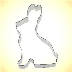 Metallic Cookie Cutter Bunny Rabbit
