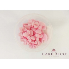 Cake Deco small Baby Pink Bows 1,5-2,5cm - 9 designs - 20pcs