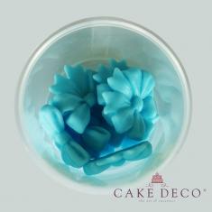 Baby blue Bows 3,5cm 12pcs