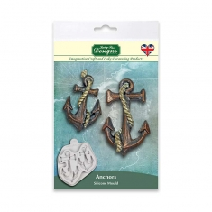 Anchors  Silicone Mould by Katy Sue