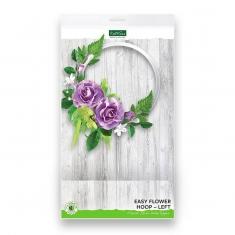 Στεφάνι Λουλουδιών Αριστερό -Διακοσμητικό Topper της Katy Sue
