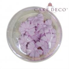 Lilac Bows 3,5cm 12pcs