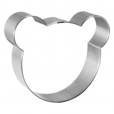 Bear Face Cookie Cutter 3.5 in