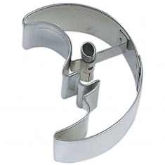 Moon Tin Cookie Cutter 2.5 in