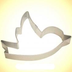 Bird Tin Cookie Cutter 3.75 in