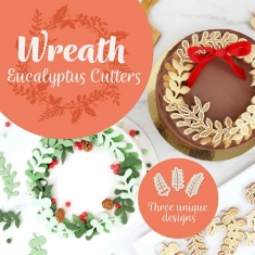 Eucalyptus Wreath Cutter Set of 3 by PME