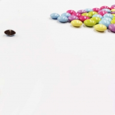 Colorful Mini UFOs with Milk Chocolate filling 1kg