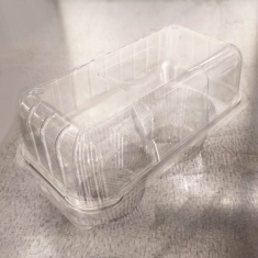 Double Cupcake Clear Container