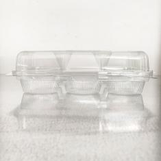 Διάφανη Πλαστική Θήκη για 6 Cupcakes