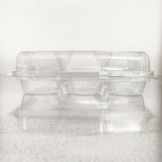 6 Cupcake Clear Container