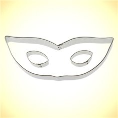 Μεταλλικό Κουπάτ Μπισκότου Αποκριάτικη Μάσκα