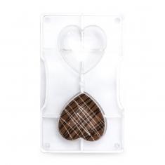 Καρδιές καλούπι 2 θέσεων για σοκολάτες/κεράσματα 42γρ. της Decora