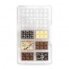 Μικρή Μπάρα σοκολάτας καλούπι 10 θέσεων της Decora