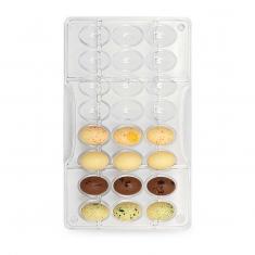 Καλούπι 24 θέσεων για Μίνι Σοκολατένια  Αυγά 5,48γρ της Decora