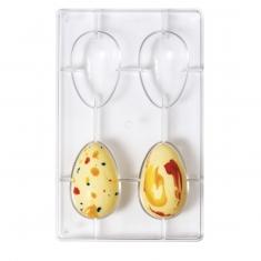 Καλούπι 4 θέσεων για σοκολατένια Αυγά 70γρ. της Decora