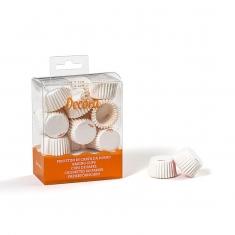 Super Mini Λευκά Καραμελόχαρτα για Σοκολατάκια 200 τμχ.
