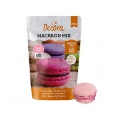 Μείγμα για Ροζ Macaron  σε μορφή σκόνης 250g της Decora