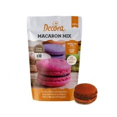 Cocoa Macaron Powder Mix 250g by Decora