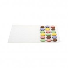 Silicone Macaron Mat for 24pcs by Decora, D30 x 40cm