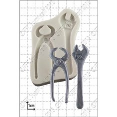 Καλούπι Σιλικόνης της FPC - (Κλειδί & Τανάλια) Wrench & Pincers