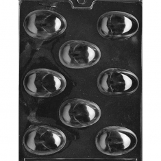 Large Eggs Chocolate Mold - Dim.: 5,72 x 4,13 x 1,59cm