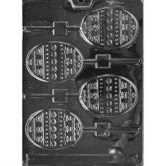 Αυγά με Διακόσμηση - Καλούπι για Γλειφιτζούρια Δ: 8,57 x 6,35 x 0,64εκ.