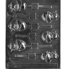 Αυγά με Κοτοπουλάκι στο τσόφλι - Καλούπι για Γλειφιτζούρια Δ: 5,72 x 4,45 x 1,27εκ.