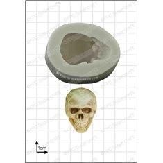 Καλούπι Σιλικόνης της FPC -  Τρισδιάστατο (Κρανίο 3D Skull)