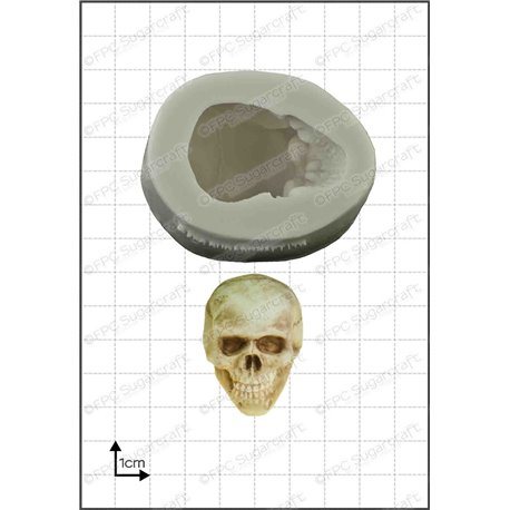 3D Skull silicone mold by FPC