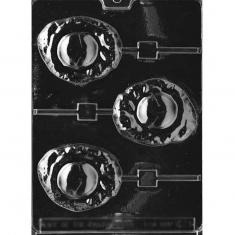 Fried Egg Lollies Mold -Dim.: 8,89 x 7,62cm