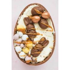 Μισό Καβούκι Αυγού Πασχαλινού με σοκολάτα Γάλακτος 125γρ. για γέμισμα