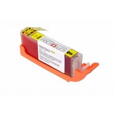 Βρώσιμo Μελάνι KopyForm Κίτρινο με Chip (CLI-581Y)