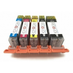 Βρώσιμα Μελάνια KopyForm Σετ 5 χρώματα (PGI-580 / CLI-581) (TK181-TK185)
