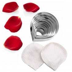 Cutters and Veiners Set for Rose Petal - Flower Master Series