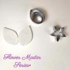 Σετ Κουπάτ και Veiner για Φύλλο Τριανταφύλλου - Flower Master Series