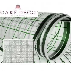 Αντικολλητική Επιφάνεια Εργασίας Ζαχαρόπαστας 63x63εκ. Cake Deco