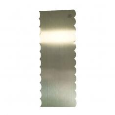 Inox Σκρεΐπερ (Scraper)  για Μεγάλες Κοίλες/Κυρτές Λωρίδες Δ: 228*89*1χιλ.