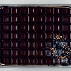 Tablet Ice Cream Top Silicone Mold - Half Pan