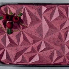 Iceberg Ice Cream Top Silicone Mold - Half Pan