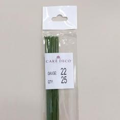 Νο.22 Πράσινα Σύρματα Λουλουδιών 25 τεμ. Ιαπωνικά