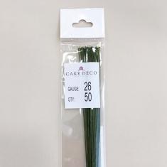 Νο.26 Πράσινα Σύρματα Λουλουδιών 50 τεμ. Ιαπωνικά