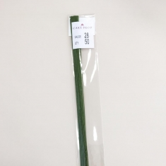 Νο.28 Πράσινα Σύρματα Λουλουδιών 50 τεμ. Ιαπωνικά