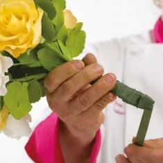 Ταινία Λουλουδιών Πράσινη 1,2εκ. x 27μ