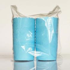 Light Blue - Ciel  Cupcake Baking Cases  with anti-stick liner D7xH4,5cm. 20pcs