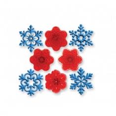 Angel Snowflakes - Set of 4