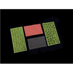 FMM Cobblestone and Stone Wall Impression Pads