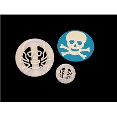 FMM Skull n Bones Impression Pads - Set 2