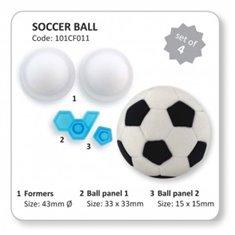 Κουπάτ και φόρμα Μπάλας Ποδοσφαίρου Σετ 4 τεμ. της PME