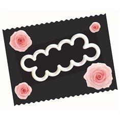 Κουπάτ της FMM Εύκολο Τριαντάφυλλο (Easy Rose Cutter)